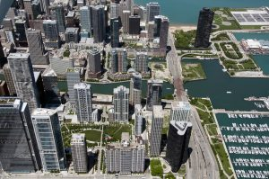 Magellan's Lakeshore East project, a large mixed-use neighborhood in downtown Chicago